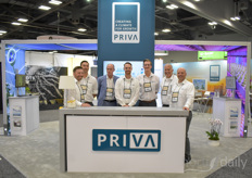 The team with Priva North America was of course present on the show.