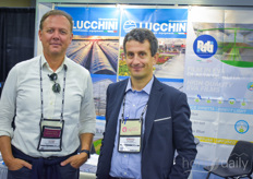 Of course not to be missed at the show were Luigi Pezzon with Pati International & & Vittorio Genuardi with Idromeccanica Lucchini