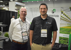 Sylvain Blais & Simard-Frenette Etienne with Harnois Industries.