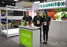 David Wagner, Doug Miller & Chelsea Palmer with Illumitex.