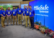 The team with BioSafe Systems brought the SaniDate MDS, making it able to control your irrigation system and the data collected from the system via your cellphone.