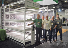 The racks of PIPP horticulture (Greenhaus Industries) gained a lot of attention at the show.