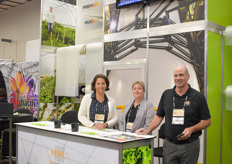 Amy Lynch, Elizabeth Nyberg & Colin Field with RPC BPI Horticulture.