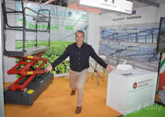 Here we go with the photo report of the 2019 edition of the Horti China. Let's start with Xander van der Zande with DanDutch - Uplifting the HortiChina in Qingdao!