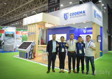 Zoey Guo, Jack Dai, Jelmer Huizing, Just Roos & Young Wu with Codema. During the trade mission in November, they will officially have their new office in China opened.