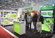 The Illumitex team showed their Illumitex HarvestEdge Extra Output, that was released this year. In the photo David Wagner, Dennis Riling, Joel Enns, Jordan Goulet & Wes Eaton.