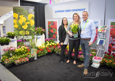Leigh Copeman, Meagan Creighton & Rob Vanstaalduinen with Express Seed Company