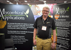 Blair Busenbark with Mycorrhizal Applications, an additive based on mycorrhizal fungi helping to better the root system. Read more about their latest addition, the MycoApply Injector Endo, here: https://www.floraldaily.com/article/9122706/us-new-mycorrhizal-product-specifically-designed-for-horticulture-injection-systems/