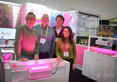 Where there's pink lights and rubber ducks, you know you can't be far from the Oreon booth. In the photo Jan Mol, Jason Beer, Arnold de Kievit & Pien Stams. The company has some nice products coming up - stay tuned!