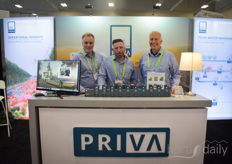 Nah it's not! Here we have the familiar faces: Henry Vangameren, Dave Taylor & Bill Whittaker with Priva North America.