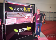 Denis Dullemans with Agrolux shines bright like his lighting solutions!