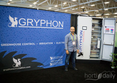 Patrick Patterson with Gryphon offering automation for various greenhouse controls