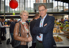 Petra Veldman and Paul Stoffels with Stoffels Tomatoes