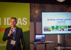 "On the Fresh Ideas stage, Eric van der Meer of FoodVentures took the listeners along in the process of setting up cultivation companies in 'unexplored' horticultural countries. One of the tips: ""Never pay bribes!"""