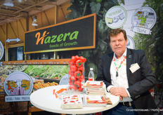 Charles Welten of Hazera. The breeding company is very successful with the 27468 and the 48240.
