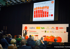 In between, Hans-Christoph Behr fluffed out all the developments in the tomato markets.