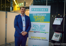 The day was organized by Fruitnet. In the picture Artur Wiselka.