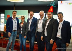 Team Axia Vegetable Seeds present - not only for the tomato event but also to celebrate the birthday of Cees Kortekaas!