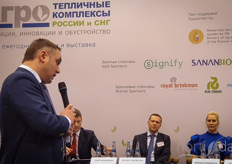 Aleksandr Aleksandrov, vice president of the association of greenhouses of russia