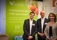 Olivier Begerem, Maxime Dedecker Marina Stepina with 2Grow