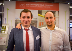 Igor Gromovoy with AB Energy Russia