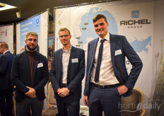 Mger Oganesyan, Nicolas Spassky Mikhail Kornachev with Richel Group