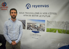 Mathieu DeSmedt with Reyenvas. The Spanish greenhouse supplier works together with Armando Alvarez and this year is full with interesting projects.