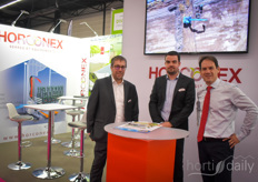 Sebastien le Large, Simon le Coz & Olivier ROusset-Rouviere with Horconex. Only recently the company opened up their new HQ in Netherlands: