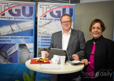 Thomas Wormer & Jutta Brockmann with TGU Greven