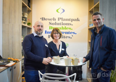 The biodegradable Desch Plantpak solutions
