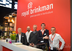 We're only showing the team with Royal Brinkman in the photo, but they also brought various solutions for growers, including the HortiHygienz concept to help growers battle ToBRFV, the solutions of Berg Hortimotive, Agrobio IPM products, Hermadix shading products and of course the machines of Van der Waay, Weterings & Empas.