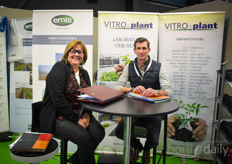 Cecile Bodart & David Fournier with Vitro Plant