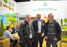 Olivier Bonnet with Gautier is visited by friends from the industry