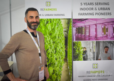 Eric Dargent with Refarmers. Various indoor & vertical projects of the company will be launched this year - we'll keep you updated!