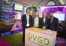 VGD shows the platform that helps growers define & reach their goals by implementing sensors in the greenhouse that calculate how to adjust the lighting.