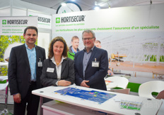 Herve Billon, Marion Schoefer & Pierre Pokorny with Hortisecur