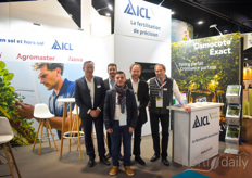The team with ICL Fertilizers.
