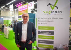 Jean-Michel Mahe also is active with VegInnov, helping African growers to get a better position and better techniques.