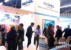 It was busy for three days straight at the Richel booth at the Sival - we're sharing with you what that was early next week!