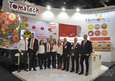 The team of the young Israeli breeding company TomaTech. In a short period of time they have launched a wide range of tomatoes.