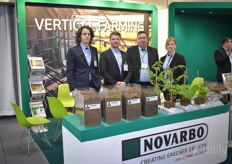 The Novarbo team was nominated for the Fruit Logistica Innovation Award with Mosswool, their sustainable alternative / additive for peat.