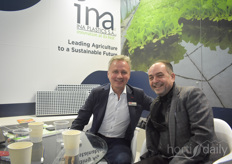 Jan de Smet van Van der Knaap and Jacob Tsonakis from INA Plastics know each other well from Mexican horticulture....