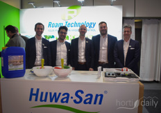 At the beginning of the year, the Roam Technology team had a full schedule to show the Huwa-San products, based on stabilized hydrogen peroxide, to many interested parties.