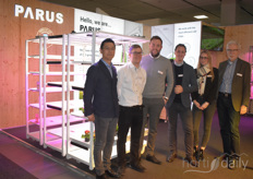 Parus brought not only their LED lights but also the racks that can be removed and furnished plug-and-play. They attracted a lot of attention...