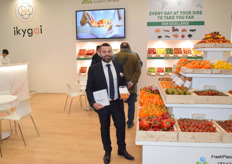 Fabrizio Iurato of Top Seeds International promoting the new brand Ikygai