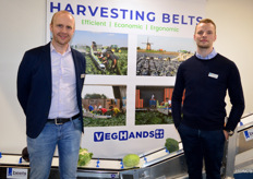 Christian Oosterlaan and Chris Beets from VegHands.