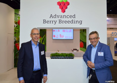 Wim Aalberberg and Henk Pennings of Advanced Berry Breeding.