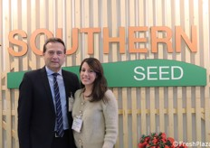 Breeding company Southern Seed. In the picture Salvatore Cassibba (general manager) and Giuditta Cassibba (administrative manager).