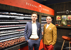 All soft fruit and Koen Mathijssen and Tim ter Stege at Beekers Berries