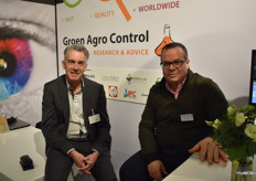 Michel Wittmer and Hassan el Khallabi from Groen Agro Control. Last year the lab opened a branch in Peru and there too the demand is very high.